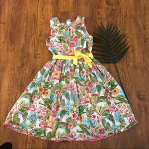 Monsoon flamingo dress